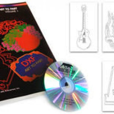DXF Clipart CD