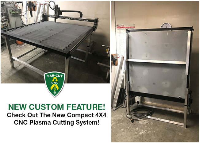 New COMPACT 4X4 Table Top CNC Plasma Cutting System.